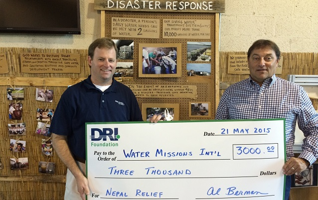 dri-foundation-water-missions-donation