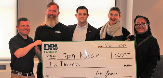 Rubicon Grant Check DRI Board